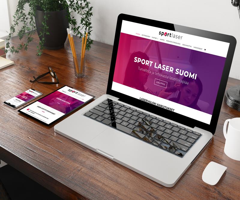 Elämäni ensimmäinen asiakas nettisivusto!