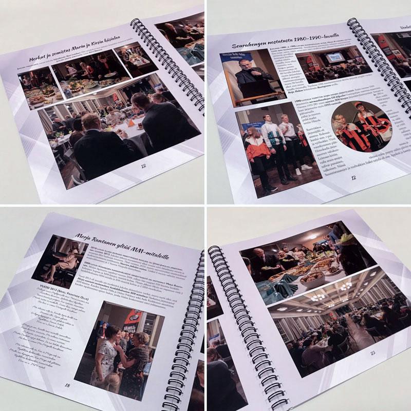 Graafinen suunnittelu / valokuvakirja